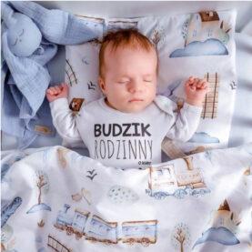 *Vonat baba ágynemű szett